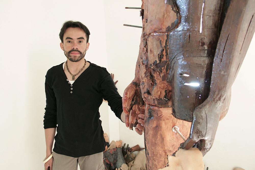 Teodoro Duque - Fragmentos, cuerpo en transformación (Fragmento) fotografía por Fano Maria