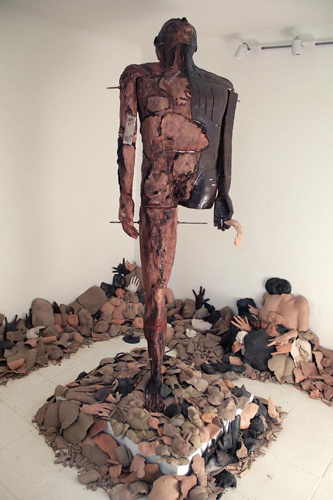 Fragmentos, cuerpo en transformación (Fragmento) fotografía por Fano Maria
