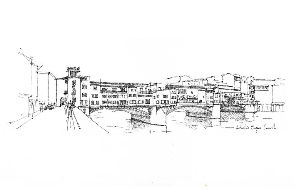 Sebastián Bayona, Ponte Vecchio, 2015