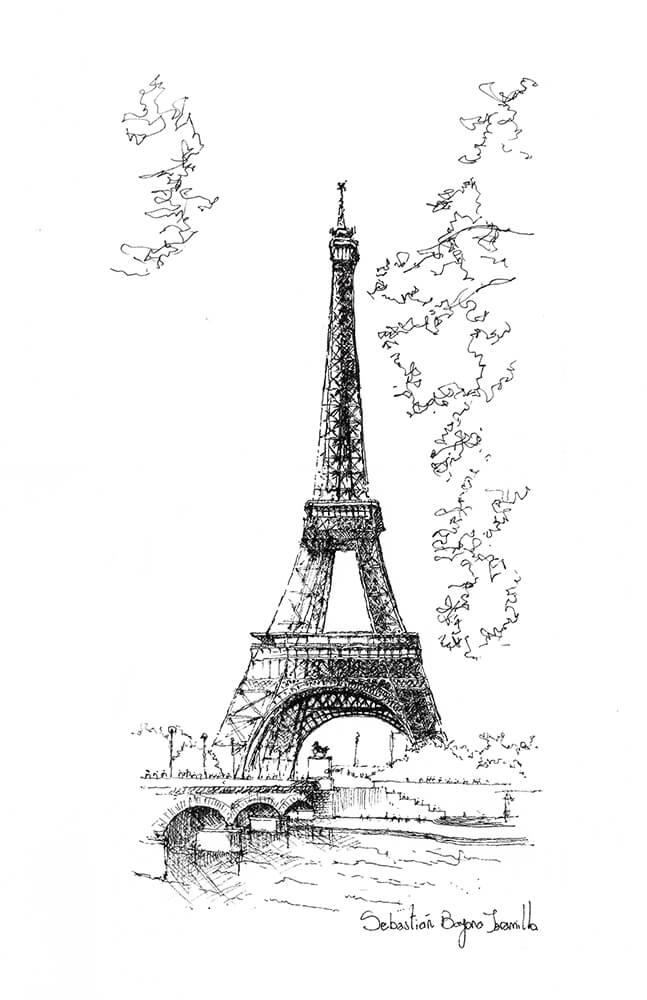 Sebastián Bayona, Torre Eiffel, 2015