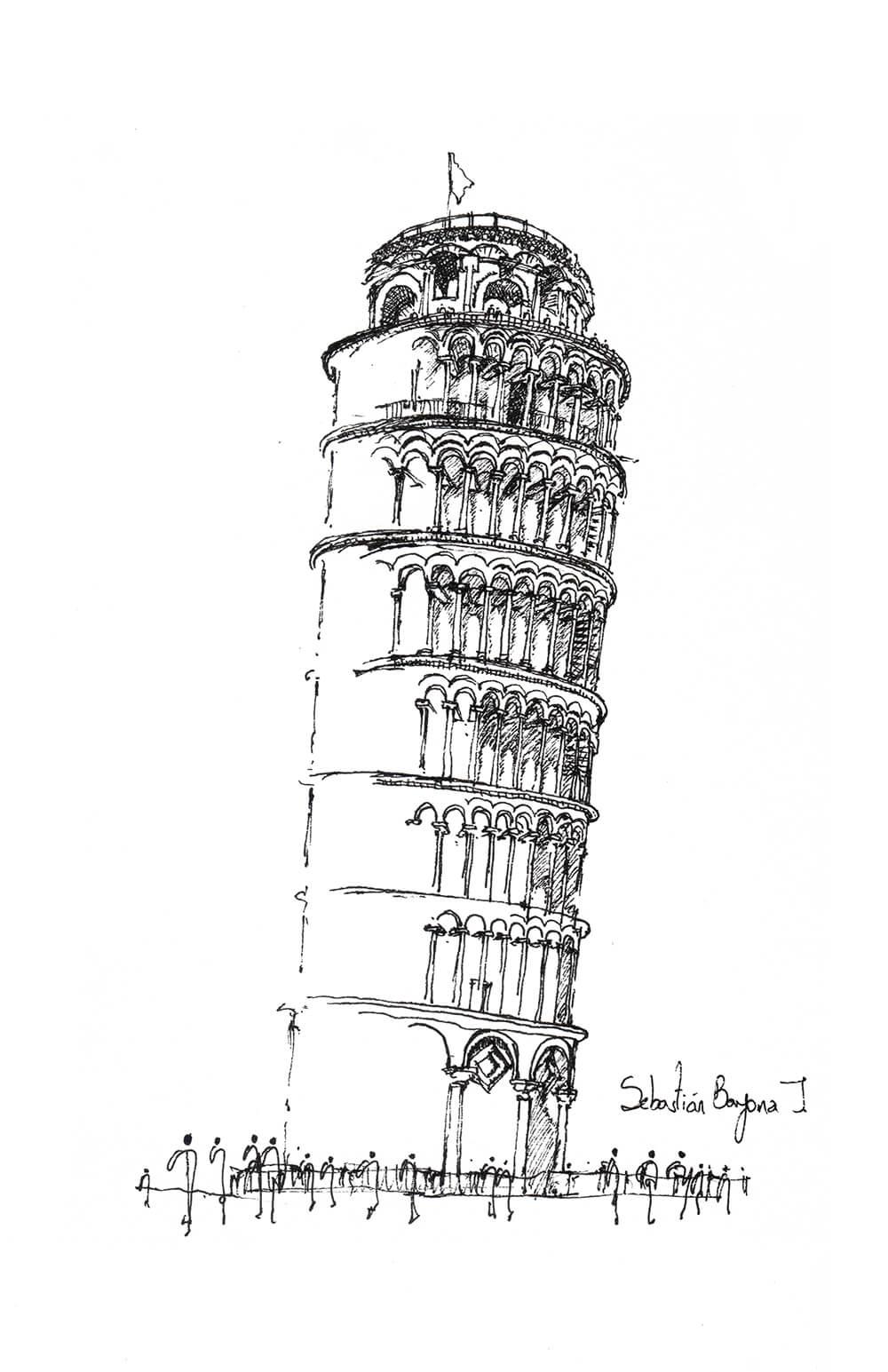 Sebastián Bayona, Torre Pisa, 2015