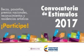 Programa nacional de estímulos 2017 convocatorias